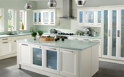 example of a kitchen installation